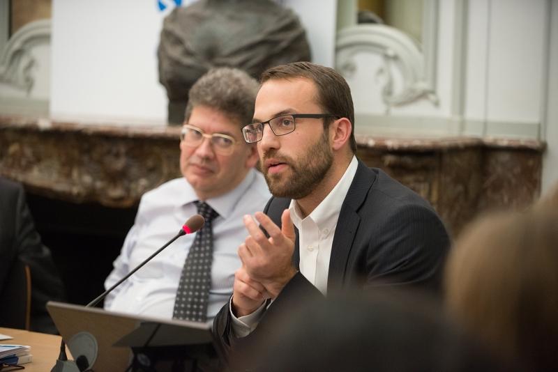 Nicolas Lorach, chargé de mission au département économie-finance