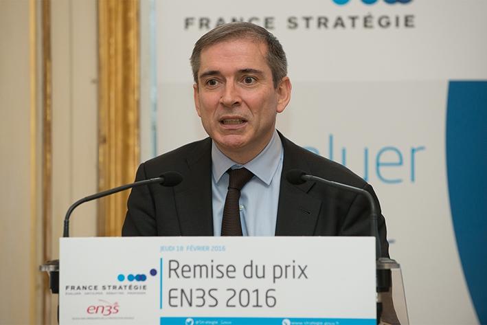 Cérémonie de remise du Prix EN3S 2016