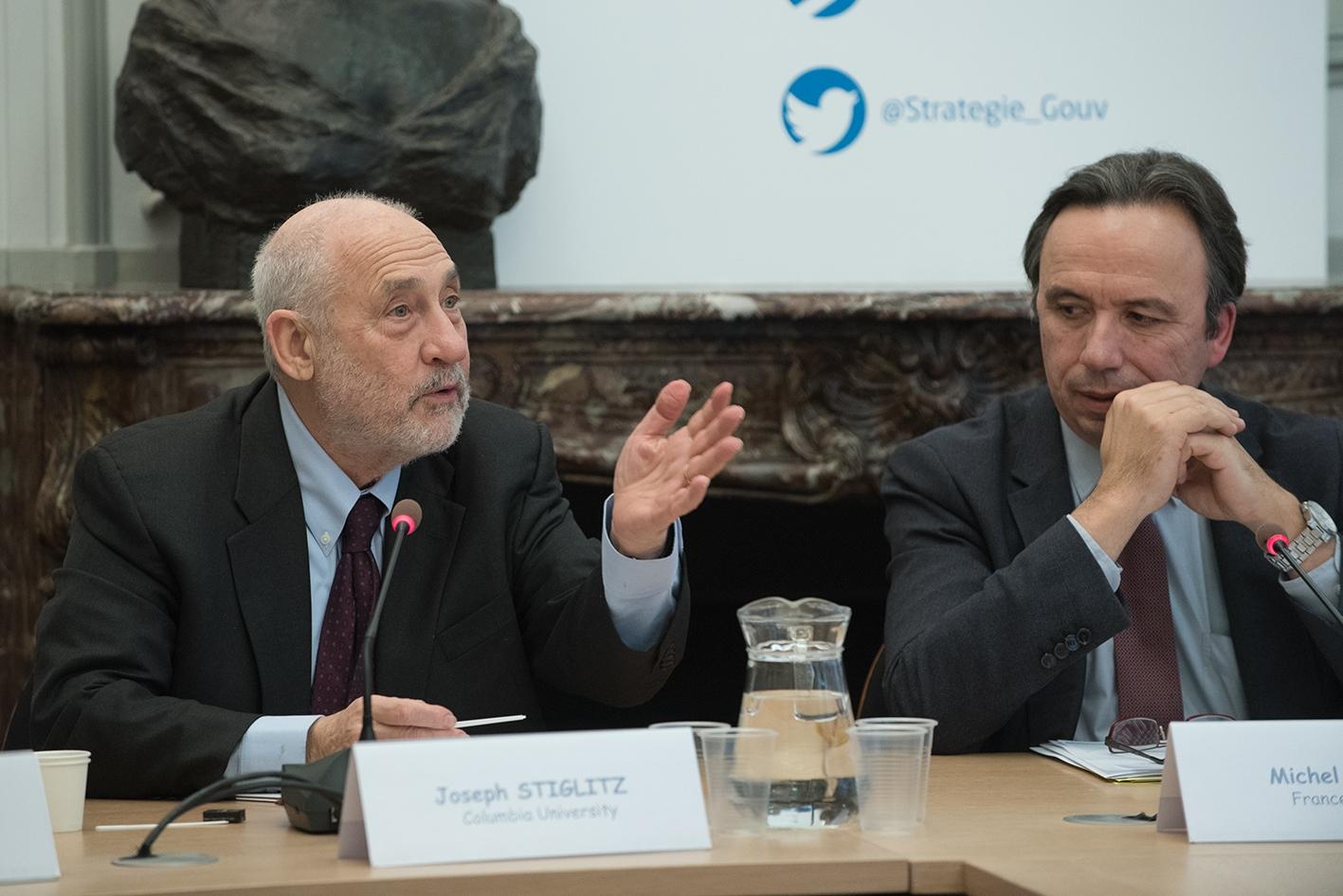 Réunion de travail de la Commission Stern-Stiglitz
