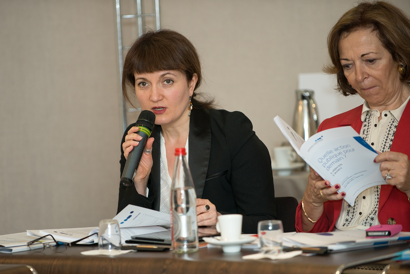 Marie-Cécile Naves, Anne-Marie Idrac