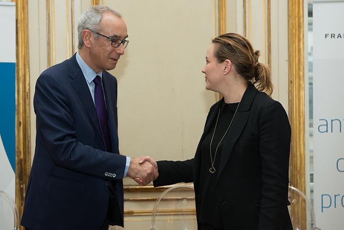 Axelle Lemaire et Jean Pisani-Ferry
