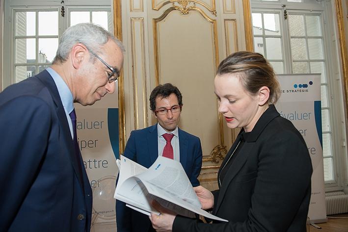 Axelle Lemaire, Jean Pisani-Ferry et Lionel Janin