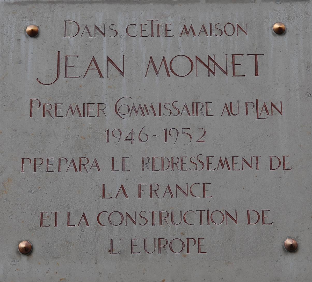 Jean Monnet – Journées européennes du patrimoine