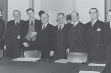 Jean Monnet et ses collaborateurs (l'équipe du Plan)
