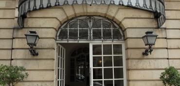 Entrée de l'Hôtel de Vogüé