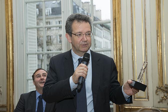 Didier Tabuteau reçoit le Prix EN3S 2013 dans la catégorie « Pédagogie »