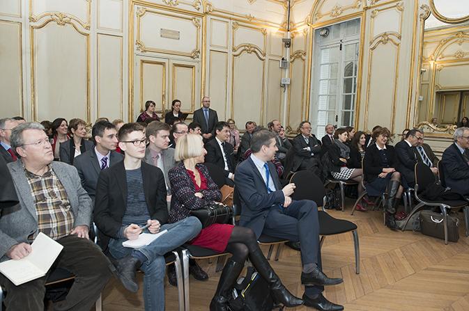 Grégoire Herer, Mireille Elbaum, Dominique Libault, Jean Pisani-Ferry