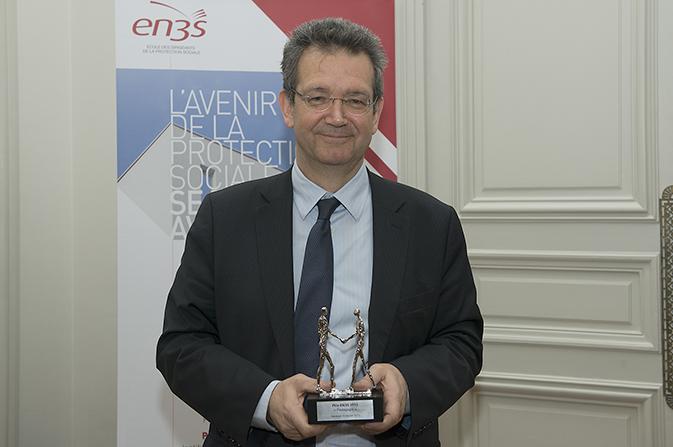 Didier Tabuteau, lauréat du prix EN3S 2013, catégorie « Pédagogie »