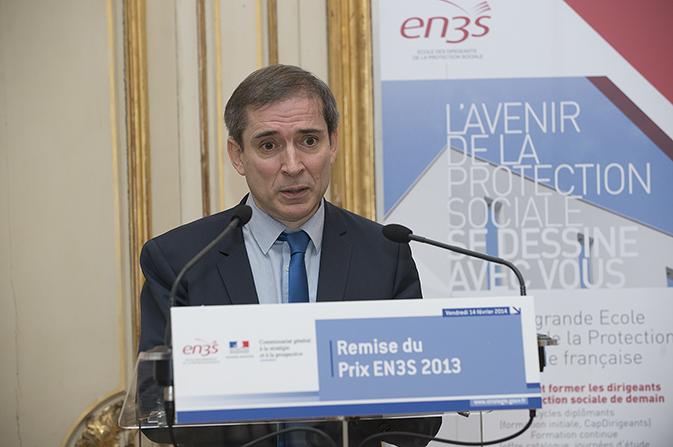 Dominique Libault, directeur de l'EN3S