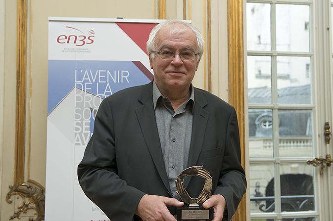 Laurent Davezies , lauréat du Prix EN3S 2013, catégorie « Perspectives »