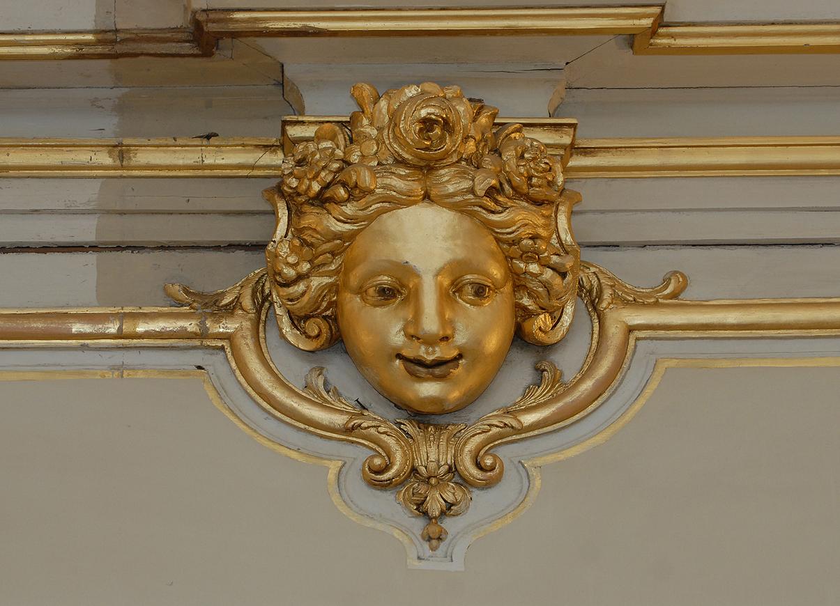 Boiseries de la salle Guillaumat (« Grand salon »), 2013. Documents conservés au Commissariat général à la stratégie et à la prospective