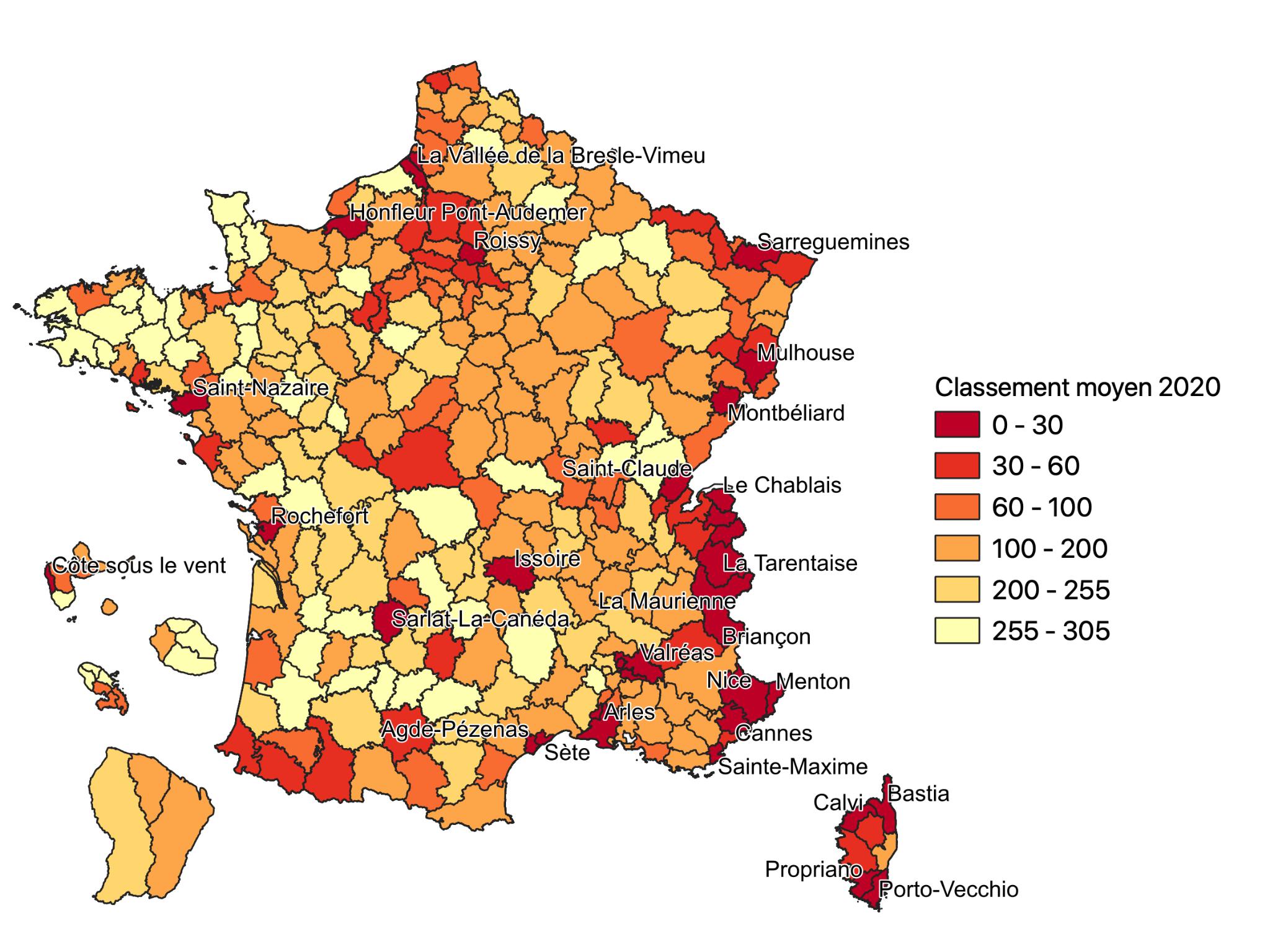 Géographie de la crise - Carte 1