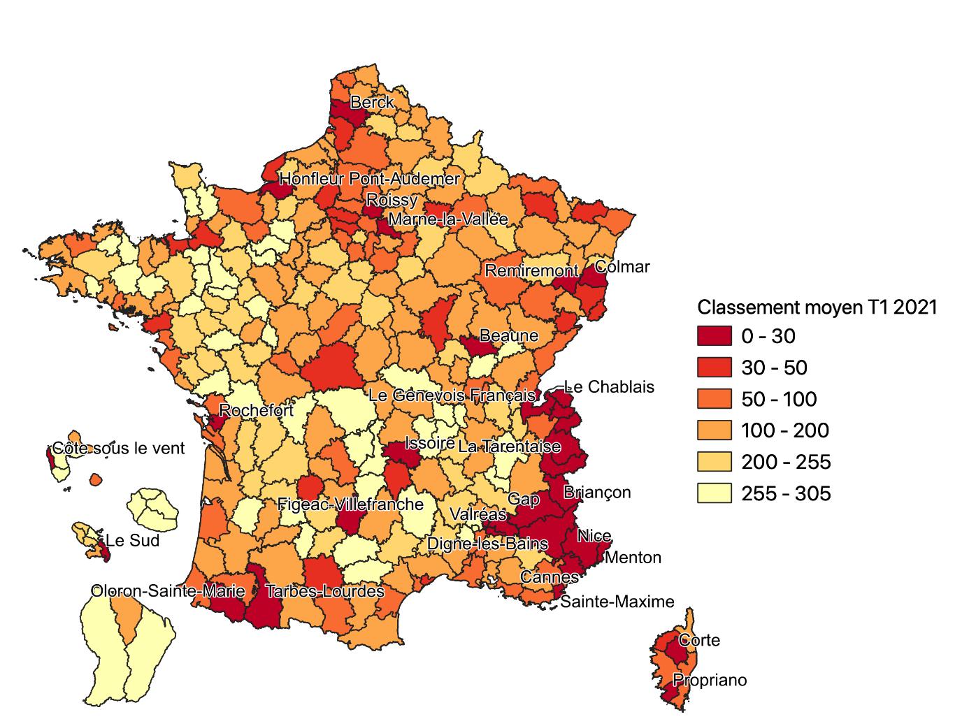 Géographie de la crise - Carte 2