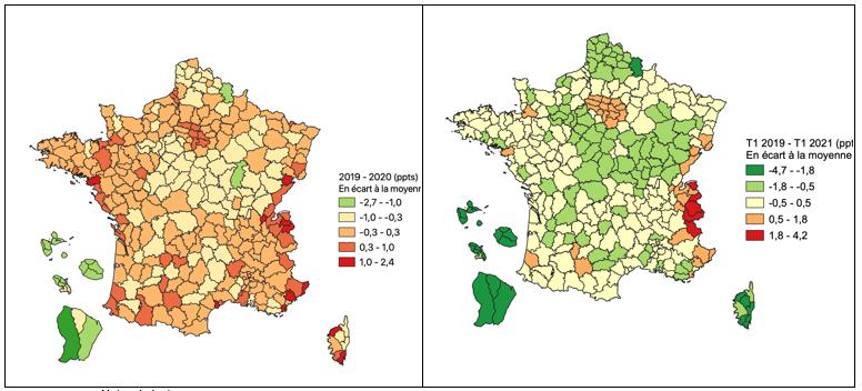 Géographie de la crise - Cartes 3 et 4