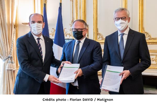 Remise officielle du rapport final du comité présidé par Benoit Coeuré