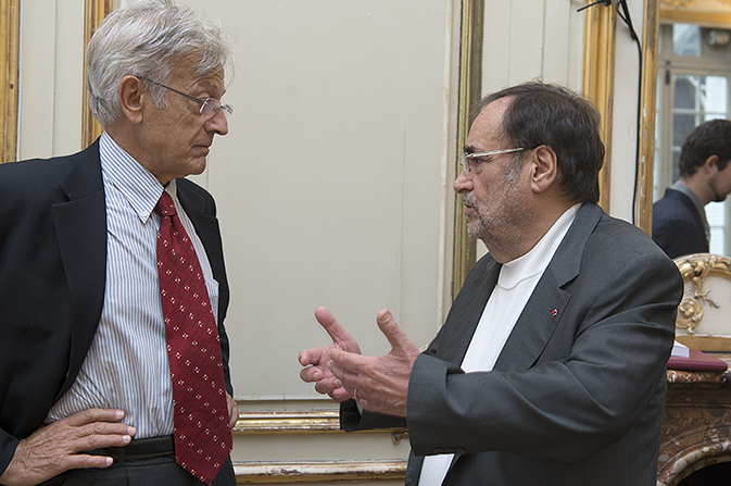 Émile Quinet et Jean Bergougnoux