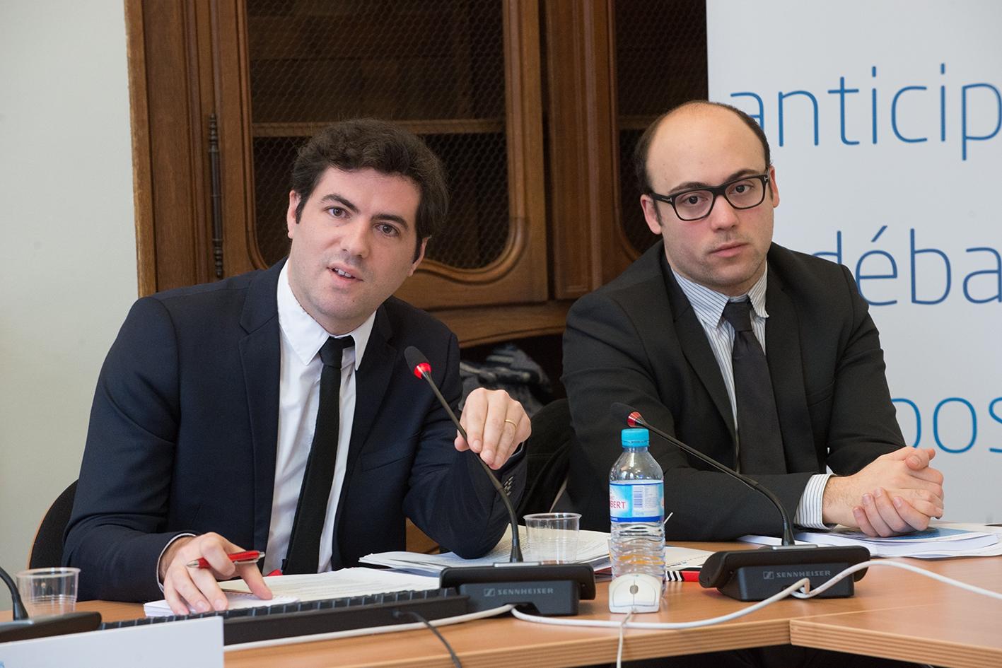 Quentin Delpech, chargé de mission au département travail-emploi à France Stratégie