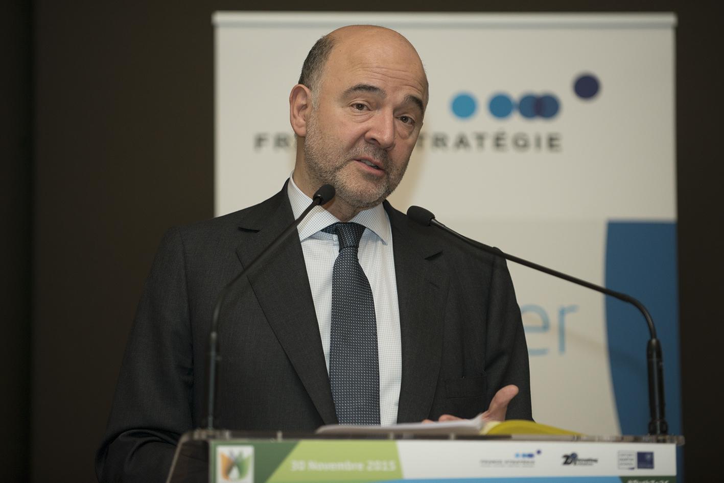 Pierre Moscovici, le 30 novembre 2015