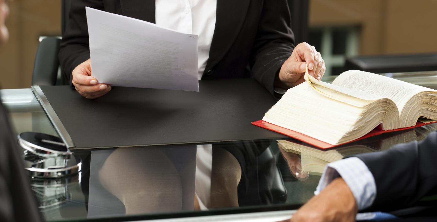 Professions réglementées du droit