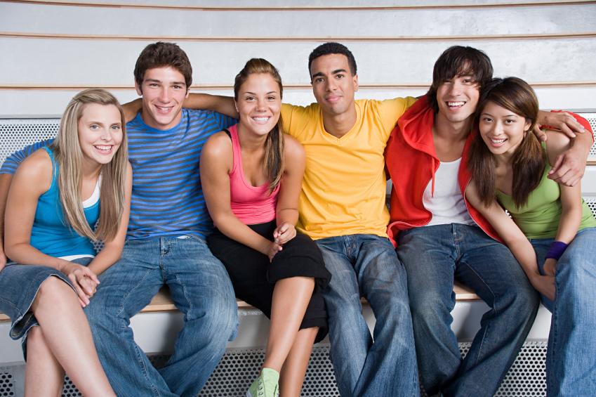 Lien maigre adolescents européens filles