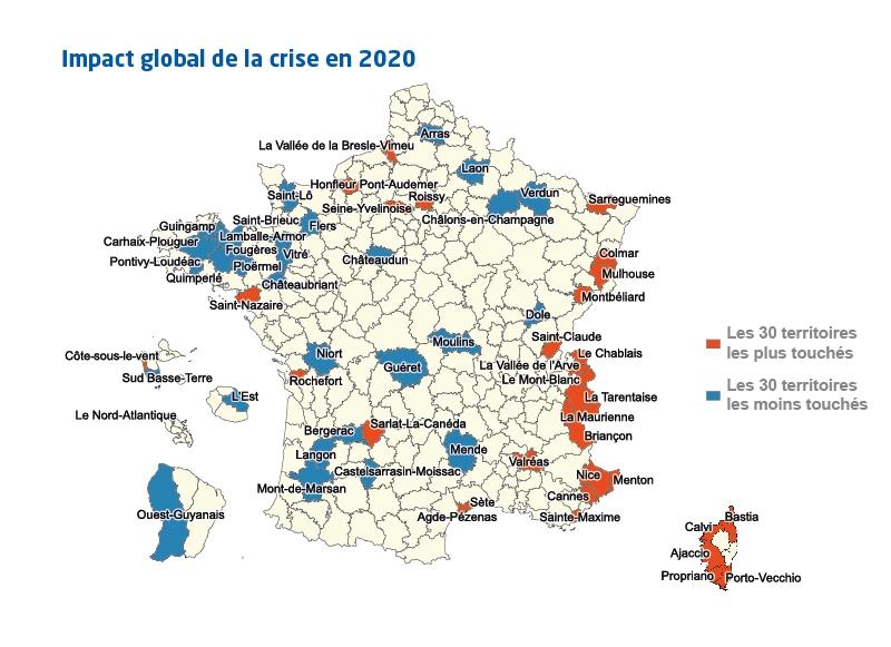 Impact global de la crise en 2020