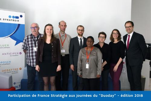 Participation de France Stratégie aux journées DuoDay