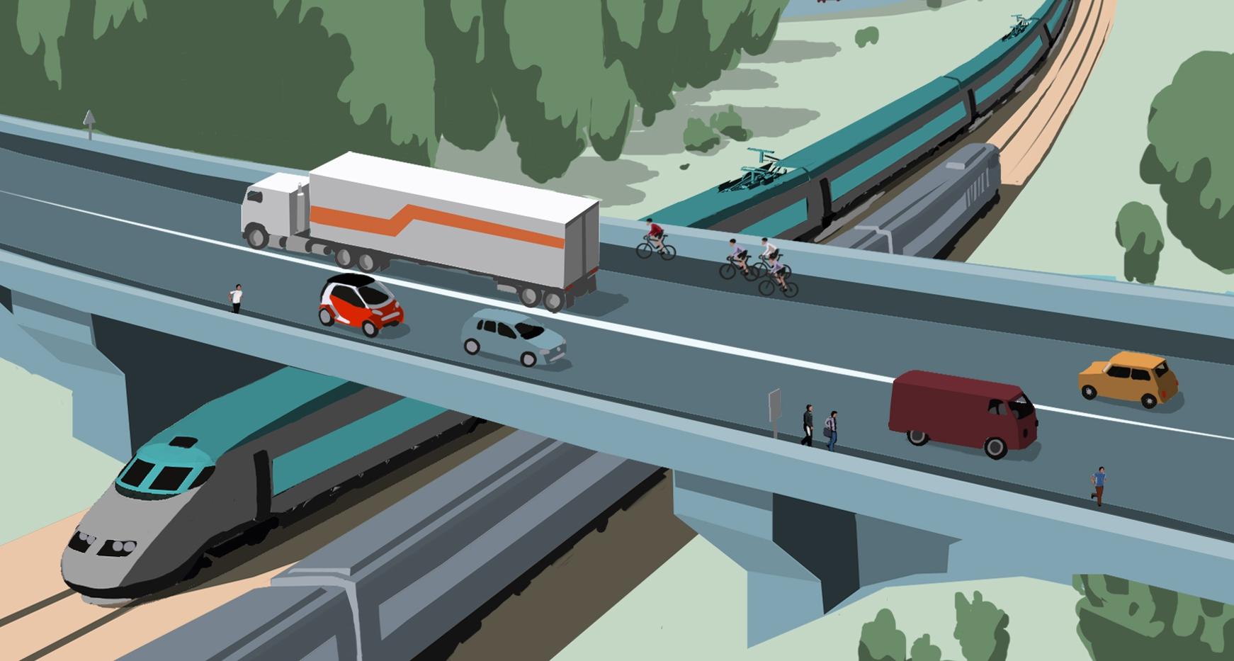 Politique Européenne des transports, illustration