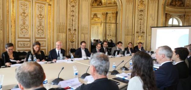 Première réunion comité PACTE