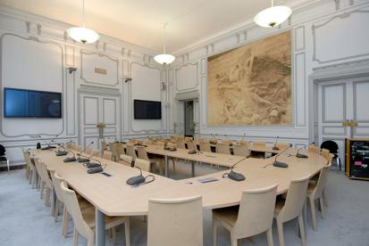 Salle Jean Monnet (c) CGSP