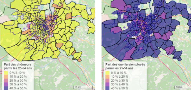 Quelle évolution de la ségrégation résidentielle en France ?
