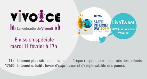 Vivoice - Internet plus sûr : un univers numérique respectueux des droits des enfants